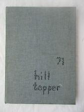 1971 Hill Topper Rocky Grove High School Yearbook Franklin PA Annual