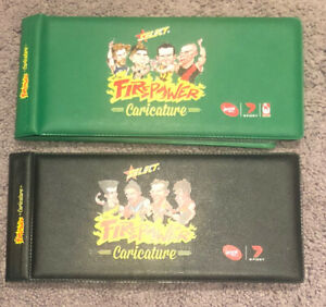 2014 + 2015 Select AFL Champions Trading Card Firepower Card Mini Albums