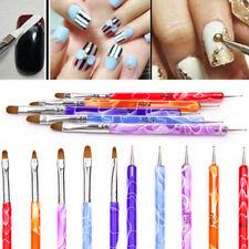5PCS 2 Way Dotting Manicure Tools Painting Pen Brush Nail Art Paint KTP