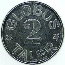 TOKEN  / GERMANY GLOBUS 2 TALER     #WT15348