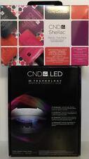 SALE! CND Shellac Set ~ LED LIGHT LAMP 9200 + TRENDY 15pc Power Polish Trial Kit