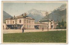 TRENI E STAZIONI (023) - MERANO Stazione Ferroviaria - Fp/Vg 1934