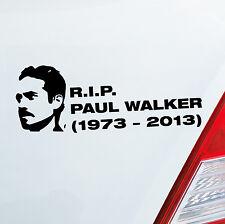 R.I.P. paul walker auto pegatinas JDM Dub pegatinas tuning auto turbo sticker 241