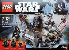 Lego Star Wars 75183 Darth Vader Transformation NEU OVP