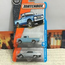 MATCHBOX Nissan LOT '71 Skyline 2000 GTX & '62 Junior Pickup Truck MCs JDM