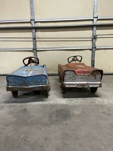 Vintage Murray And Fire Chief Pedal Cars