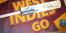 Chris Gayle (West Indies) signed Spartan mini cricket bat  + COA