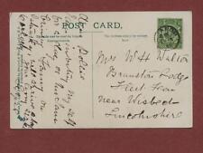 W H Walton (Polly) Branston Lodge, Fleet Fen, Wisbech 1912 - Sister Sybil  qk112