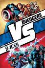 2012 POSTER ~ADAM KUBERT ~ AVENGERS VS X-MEN ~ ROLLED/SEALED 24 X 36 AVX Marvel