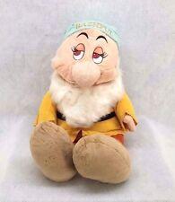 """Walt Disney's 7 Dwarfs """"Bashful"""" 25"""" Tall  With Droopy Eyes!! Super soft!!!"""