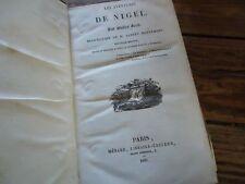 OEUVRES DE WALTER SCOTT - 1838 LES AVENTURES DE NIGEL
