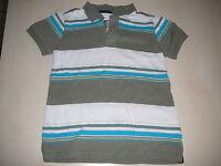 H & M tolles Poloshirt Gr. 116 weiß-khaki-blau !!