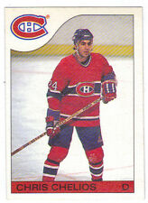 85-86 OPC O-Pee-Chee Chris Chelios #51 Mint (2nd Year)