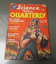 1951 SCIENCE FICTION QUARTERLY v.1 #1`FN- Pulp Fiction 132 pgs