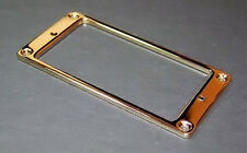 Guitar Parts Humbucker Pickup Flat Bezel METAL MOUNTING RING - GOLD