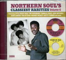 "NORTHERN SOUL'S CLASSIEST RARITIES VOL 6  ""HIGH QUALITY DANCE RECORDS 24 TRACKS"""