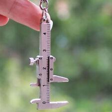 Chic Design 3D Movable Vernier Caliper Model Key Ring Chain Keychain Keyring