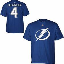 NHL T-Shirt Tampa Bay Lightning Vincent Lecavalier 4 blau Name Number Player