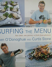 Surfing The Menu Ben O'Donoghue Curtis Stone Hardcover Cookbook
