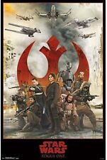 STAR WARS ROGUE ONE - Assemble - 18 x 24 Poster - New in Package