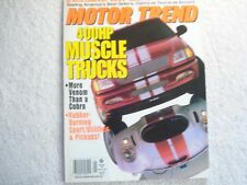 Motor Trend 1997 January Ford Taurus LX vs Honda Accord LX Monte Carlo Z/Sport