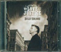 Billy Bragg - Mr Love Justice Cd Perfetto