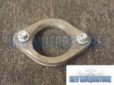 """Exhaust Flange Kit Mild Steel 2.5"""" Inch Repair 63mm 2 bolt De-Cat Pipe joiner"""