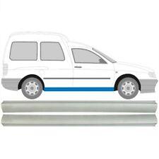 Volkswagen Caddy Seat Inca 1995-2004 2x Schweller Reparaturblech / Paar