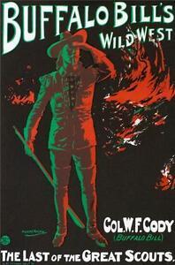 Buffalo Bill's Wild West Poster Fine Art Lithograph S2