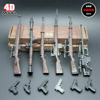 "1/6 Scale 4D Assembly Rifle Weapon Model 6pcs Set Toys For 12"" Action Figure"