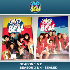 Saved By the Bell 2 Set Season 1 2 3 4 DVD 2004 4 Disc Set Max Mario Lopez LA TV