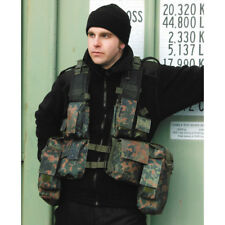 Flecktarn Army South African Assault Military Combat Paintball Tactical Vest Air