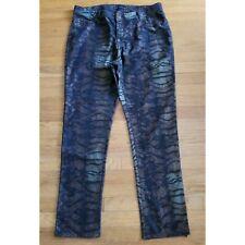 Ashley Stewart  Animal Print Jeans Size 18W