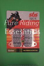 2 X SBS 706 HS FR DUCATI 916 MONSTER S4 2001 - 2003 FRONT BRAKE PADS