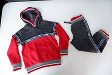 Dolce & Gabbana Tracksuit Hoodie & Bottoms Age 4 Years Grey & Red D&G