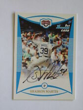 Washington Nationals SHAIRON MARTIS autographed 2008 Bowman