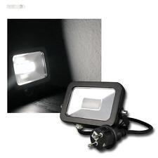 LED Flutlichtstrahler Außenleuchte SLIM daylight 780lm 10W IP44 Fluter Hoflicht