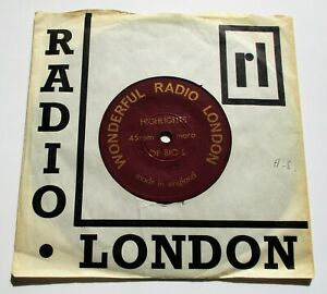 "Wonderful Radio London Highlights Of Big L UK 1967 7"" Single"