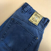 Diesel Jeans Basic Straight Button Fly Blue Vintage Men's (LabelW30) W 29 L 31