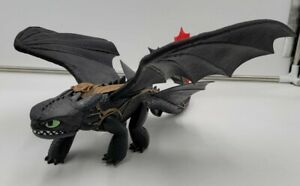 """How to Train Your Dragon Toothless Night Fury 16"""" Action Figure 66615."""
