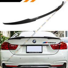FITS 2014-2018 BMW 428i 435i 440i CARBON FIBER TRUNK SPOILER WING- M4 LOOK STYLE