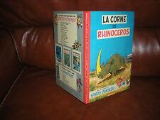 SPIROU ET FANTASIO N°6 LA CORNE DE RHINOCEROS - EDITION 6a 1970 DOS ROND ROUGE