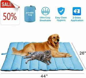 Outdoor Large Pet Bed Portable Pet Mat for Large Dogs Water Resistant - New