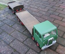Toys, Hobbies Automotive Unic Asg Spedition Wooden Box Semi-trailer Lorry Blue Gdr H0 1:87 Lk2 Å