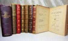 Lot livres. Georges Sand - Tolstoi - Willy, Claudine à Paris - Théophraste..