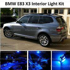 BLUE PREMIUM BMW E83 X3 INTERIOR FULL UPGRADE LED LIGHT KIT