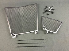 New RSV4 1000 Water Cooler / Oil Radiator Titanium Guards 11316233 (MT)