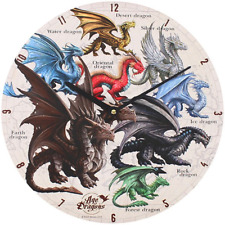 Something Different Dragon of The World Clock Multi-colour