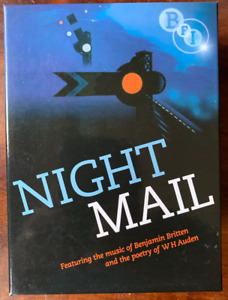 Night Mail DVD BFI 1936 Post Office Royal Mail Documentary