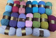 17 X 100g Stylecraft Especial D/K punto tejer hilado de lana// Crochet ático 24 Paquete de armonía